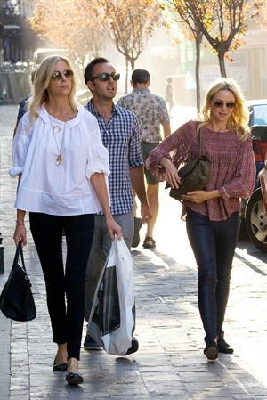 Naomi Watts Shopping in Madrid - October 8, 2012