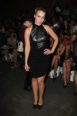 Natasha Bedingfield - Christian Siriano fashion show in New York - September 8, 2012