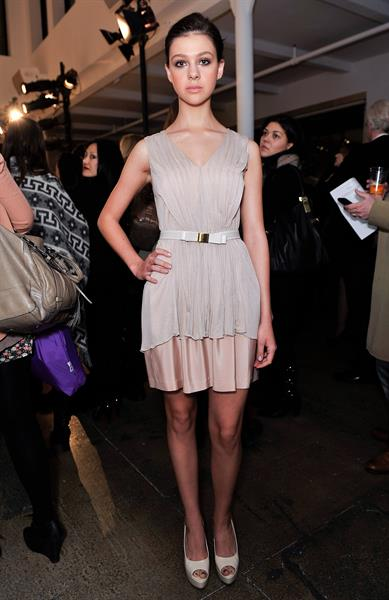 Nicola Peltz Erin Fetherston - Fall 2011 Mercedes-Benz Fashion Week, 12 Feb 2011