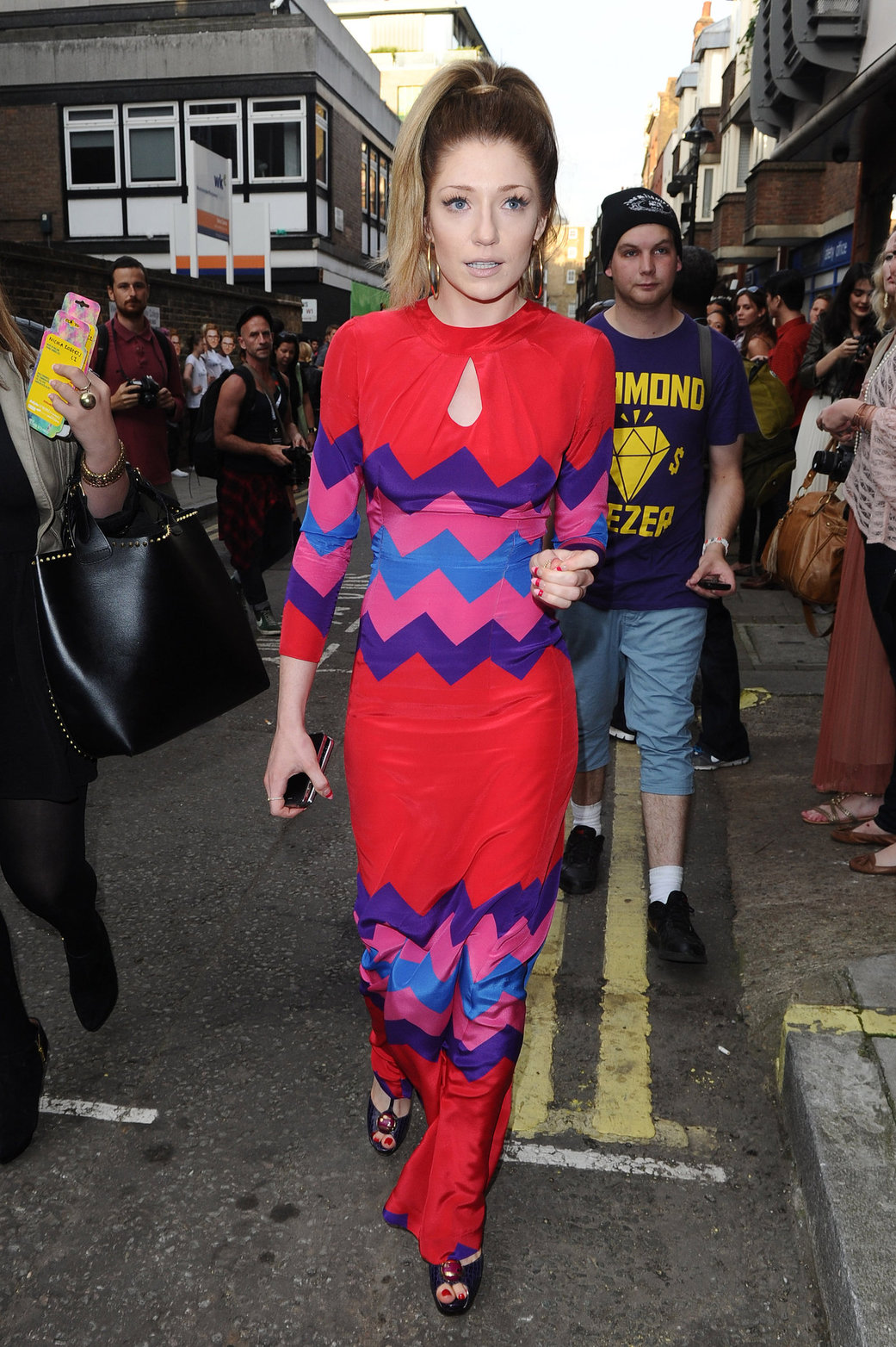 Nicola Roberts - London Fashion Week - September 15, 2012