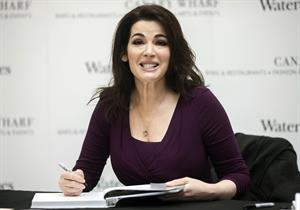 Nigella Lawson Book Signing in Canary Wharf - October 24, 2012