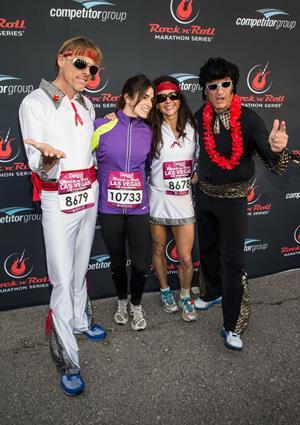 Nikki Reed at Zappos.com Rock 'N' Roll Las Vegas Marathon in Las Vegas - Dec. 2, 2012