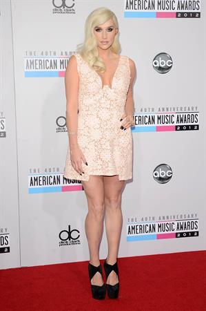 Kesha at the American Music Awards (November 18, 2012)