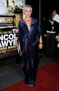 Alecia Moore special screening of the Lincoln Lawyer on March 10, 2011