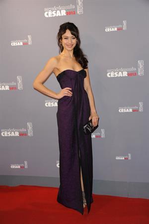 Olga Kurylenko 38th Annual César Film Awards ceremony in Paris - Feb 22, 2013