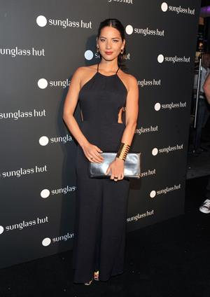 Olivia Munn Sunglass Hut Times Square Store Launch Event, September 10, 2013