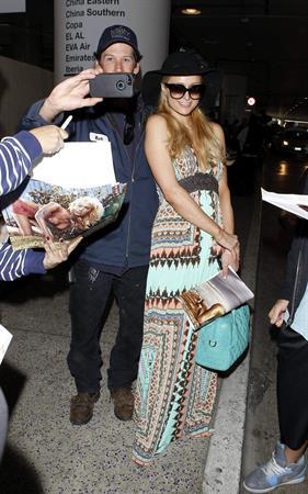 Paris Hilton - At LAX Airport March 31, 2013