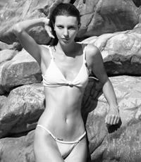 Kate King in a bikini