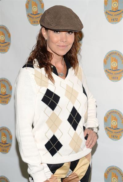 Paula Trickey Los Angeles Police Celebrity Golf Tournament & Family Fun Day (Oct 13, 2012)