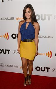 Pia Toscano OUT celebrates 20th anniversary Hollywood 10/9/12