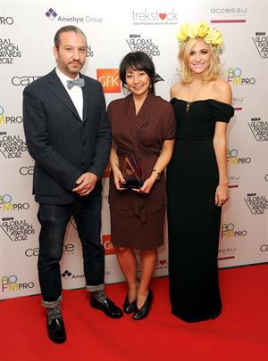 Pixie Lott WGSN Global Fashion Awards in London 11/5/12