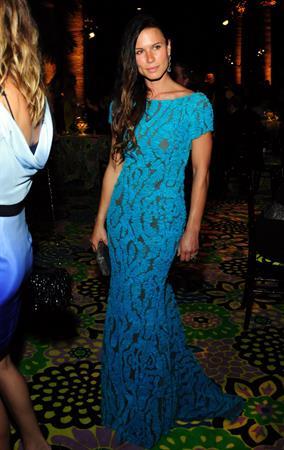 Rhona Mitra - HBO's 64th Primetime Emmy Post Award Reception (Sep 23, 2012)