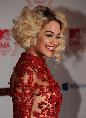 Rita Ora - At The 2012 MTV European Music Awards In Frankfurt November 11, 2012