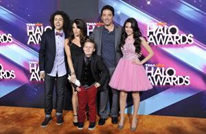 Ryan Newman TeenNick HALO awards in Hollywood 11/17/12