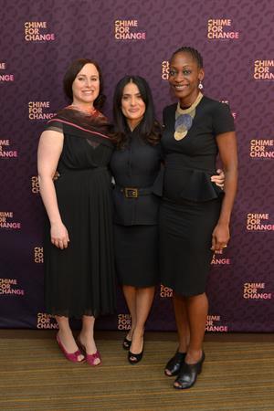 Salma Hayek - Chime for Change launch 2/28/13