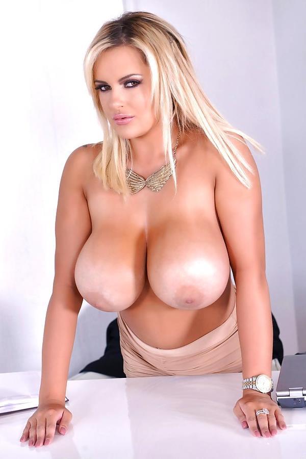 Tall Toying Busty Blonde Big Tits Czechav 1