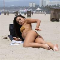 Krislian Rodriguez in a bikini - ass