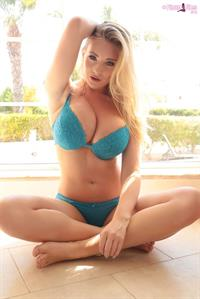 Beth Lily in lingerie
