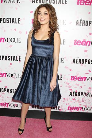 Sarah Hyland Teen Vogue 10th anniversary in NY 2/7/13