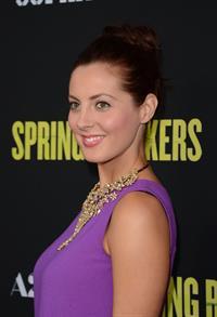 Eva Amurri Martino Spring Breakers Premiere