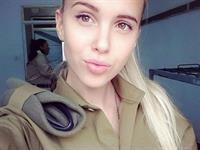 Maria Domark taking a selfie