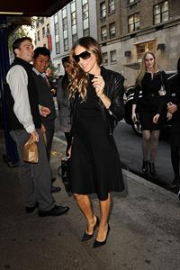 Sarah Jessica Parker Heading to Michael's Restaurant in New York (November 12, 2012)