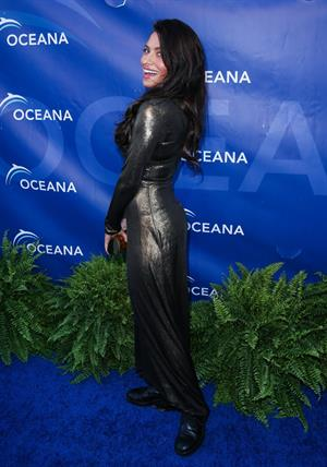 Sarah Shahi arrives at 2012 Oceana's SeaChange Summer Party on July 29, 2012 in Laguna Beach, California
