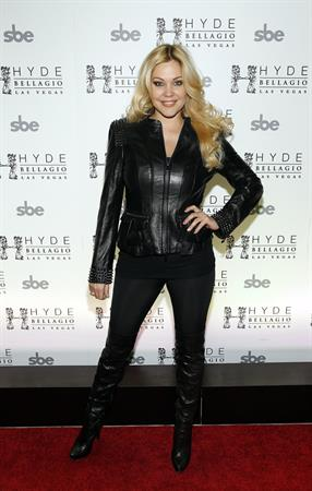 Shanna Moakler Common Performs At Hyde Bellagio In Las Vegas New Years Eve 2013 (Dec 31, 2012)