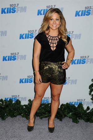 Shawn Johnson 2012 KISS FM Jingle Ball Night 1