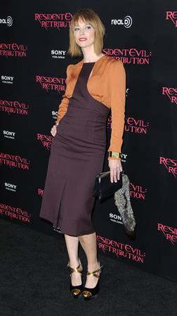 Sienna Guillory Resident Evil: Retribution - Los Angeles Premiere, 13 Sep 2012