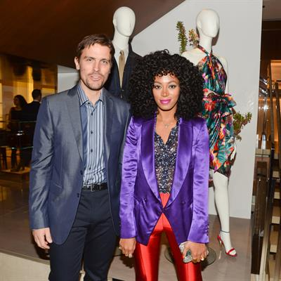 Salvatore Ferragamo's Fifth Avenue Flagship Store Re-Opening in New York City - April 12, 2012