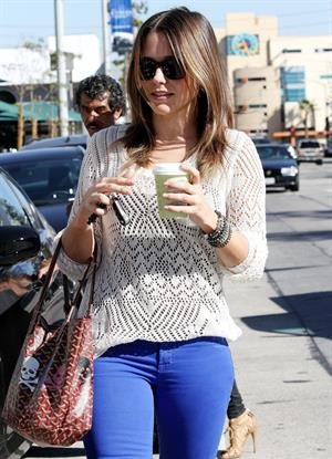 Sophia Bush Urth Cafe in West Hollywood - October 26, 2012