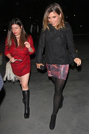 Sophia Bush at a Madonna concert at The Staples Center in LA on October 10, 2012