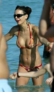 Nina Moric in a bikini