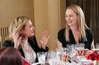 Uma Thurman hosts cocktail and Dinner to celebreate an exclusive viewing of Marilyn Forever held at Chopard Boutique