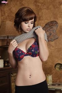 Hayden Winters in lingerie