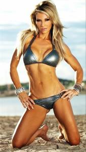 Sarah Allen in a bikini