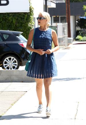 Dianna Agron at Gracias Madre restaurant in West Hollywood September 3, 2014