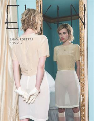 Emma Roberts Elkin Fall Winter Photoshoot 2014