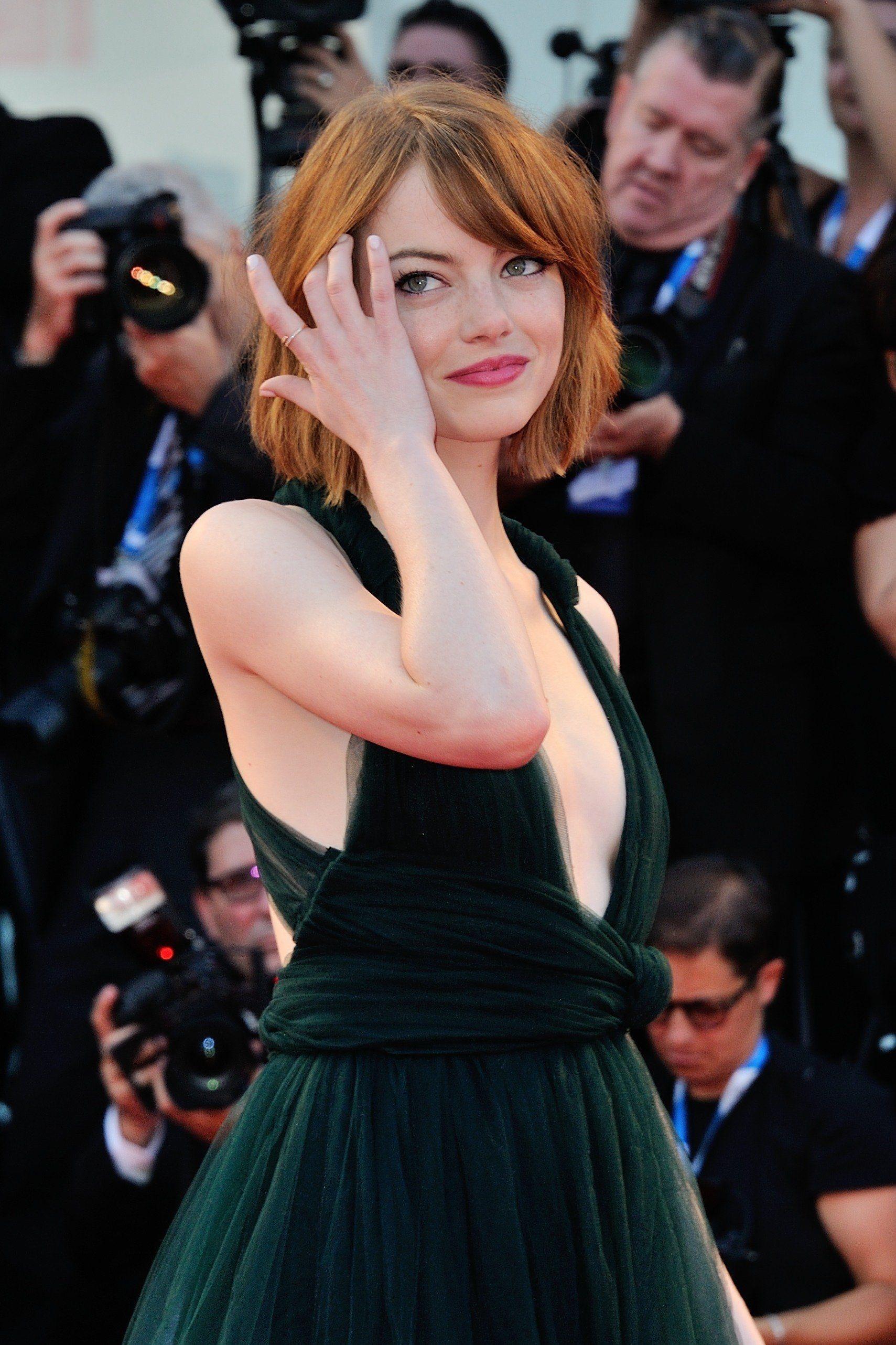 Emma Stone @ Birdman premiere opening the 71st International Venice Film Festival August 27, 2014