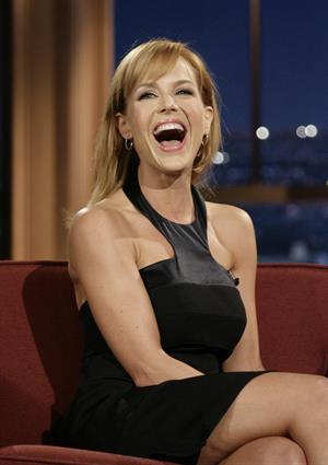 Julie Benz appears on the Late Show with Craig Ferguson