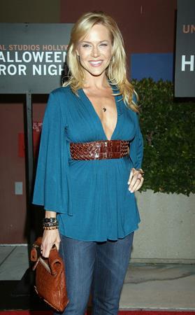 Julie Benz Opening Halloween on Horror Nights