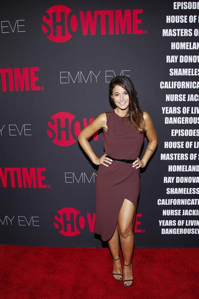 Emmanuelle Chriqui at Showtimes 2014 EmmyEve Soiree August 24, 2014