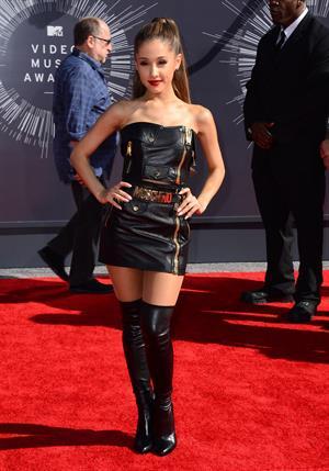 Ariana Grande at the MTV Video Music Awards Aug. 24, 2014