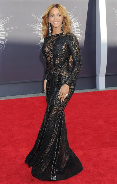 Beyonce at the 2014 MTV Video Music Awards, Inglewood August 24, 2014