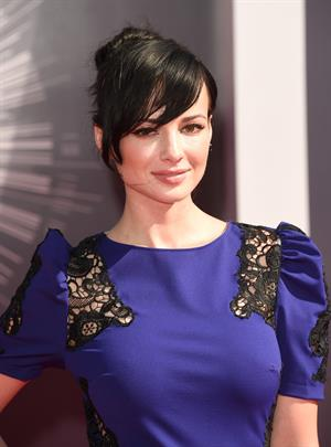 Ashley Rickards at the 2014 MTV Video Music Awards, Inglewood August 2014
