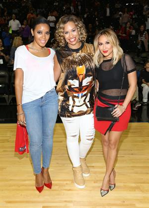 Adrianne Bailon 2014 Summer Classic Charity Basketball Game, NYC August 21, 2014