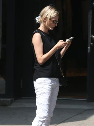Diane Kruger out and about in New York City August 20, 2014