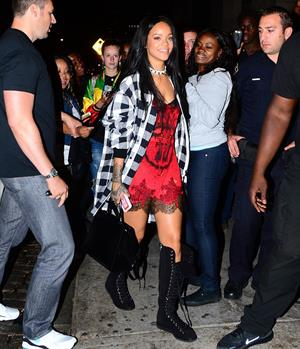 Rihanna arriving at VIP Nightclub August 18, 2014