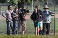 Natalie Portman ...filming on set in Austin Sept 30, 2012